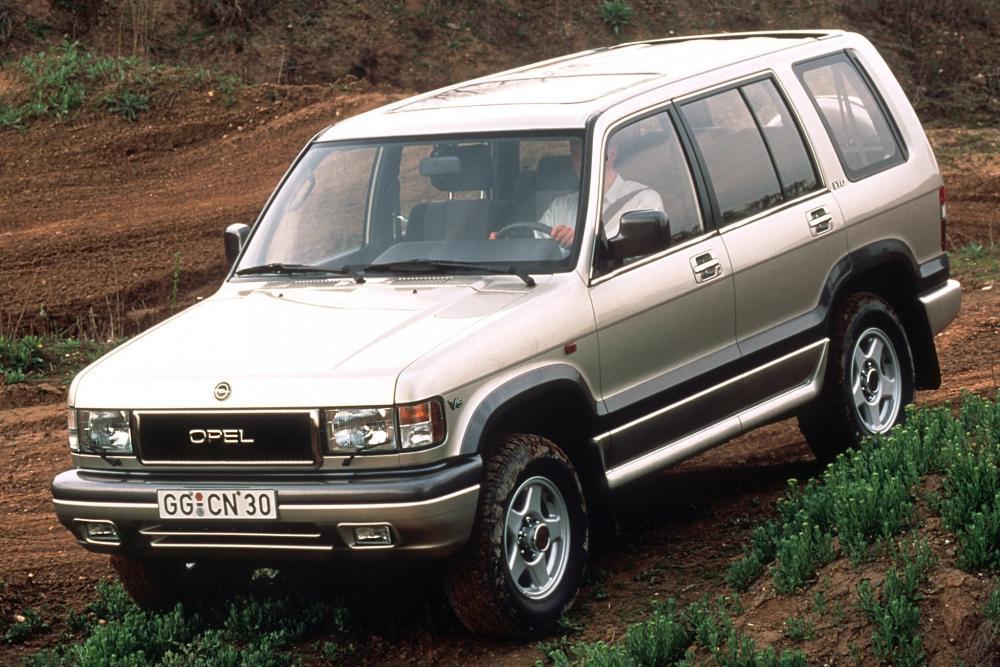 Opel Monterey 1 поколение (1991-1998) Внедорожник 5-дв.