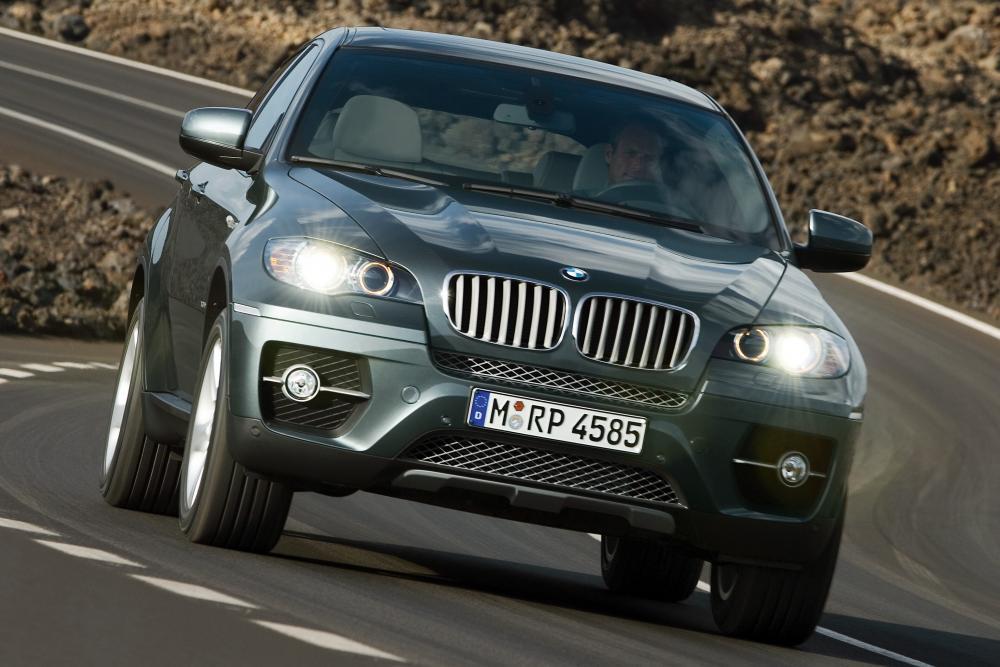 BMW X6 1 поколение E71 (2008-2012) Sports Activity Coupe кроссовер
