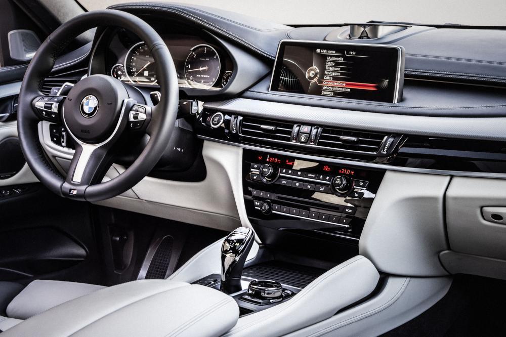 BMW X6 2 поколение F16 Sports Activity Coupe кроссовер интерьер