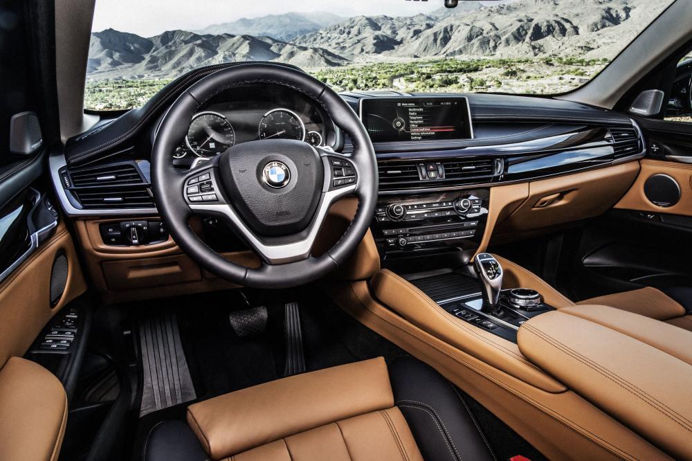 BMW X6 F16 Sports Activity Coupe кроссовер интерьер