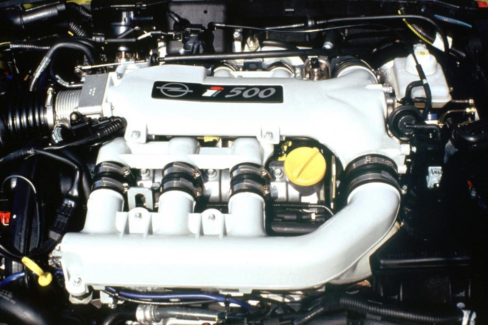Opel Vectra 2 поколение B (1997-1999) I500 седан 4-дв. двигатель