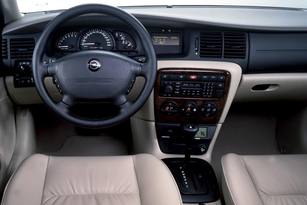 Opel Vectra 2 поколение B [рестайлинг] (1999-2002) Универсал 5-дв. интерьер