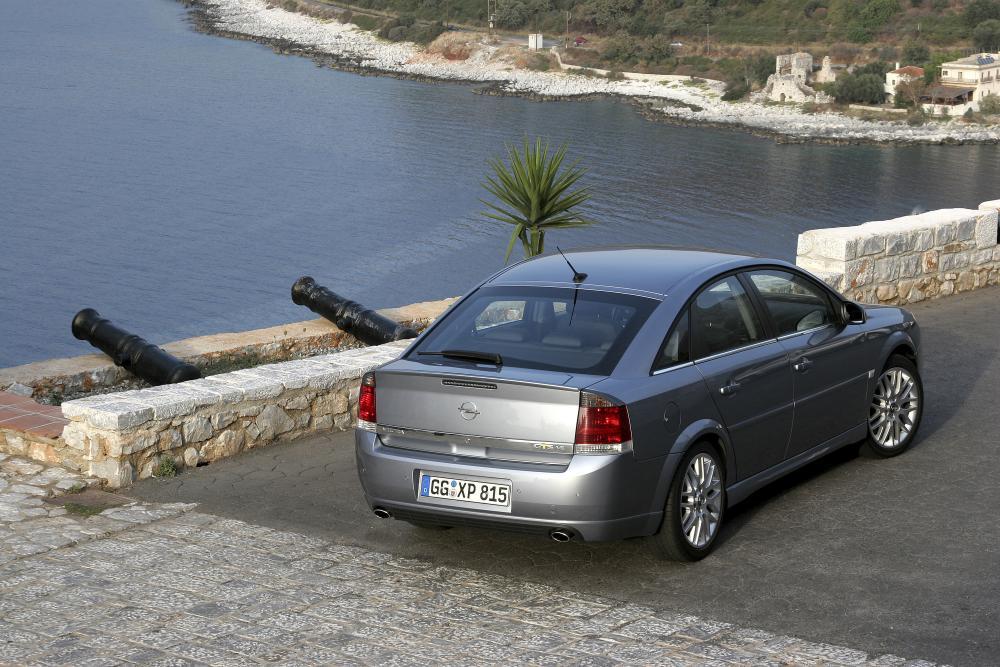 Opel Vectra 3 поколение C [рестайлинг] (2005-2009) GTS хетчбэк 5-дв.