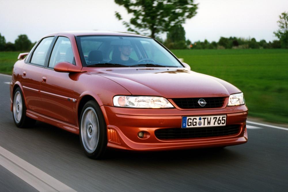 Opel Vectra 2 поколение B [рестайлинг] (1999-2002) I500 седан 4-дв.