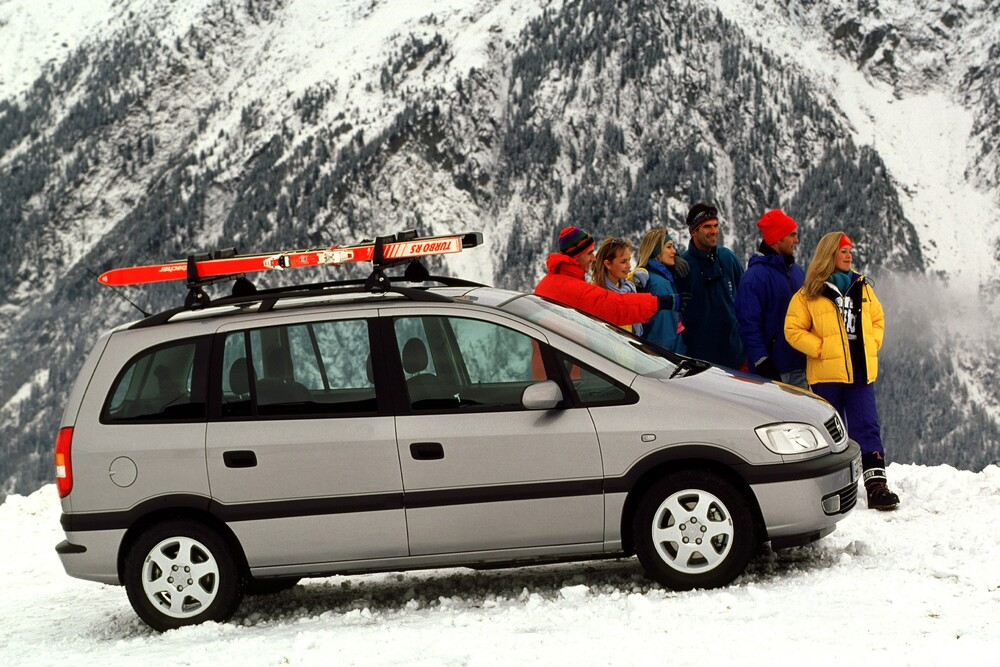 Opel Zafira 1 поколение A (1999-2003) Минивэн 5-дв.