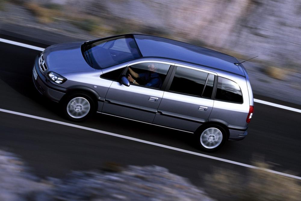 Opel Zafira 1 поколение A [рестайлинг] (2003-2005) Минивэн 5-дв.
