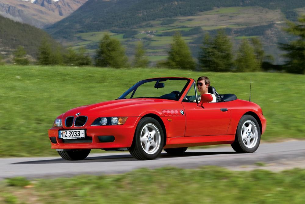 BMW Z3 1 поколение E36/7 (1995-1999) Родстер