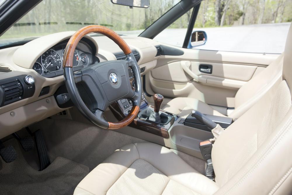 BMW Z3 1 поколение E36/7 (1995-1999) Родстер интерьер