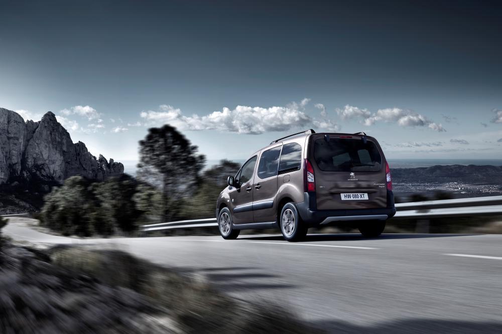 Peugeot Partner 2 поколение [2-й рестайлинг] (2015) Tepee минивэн