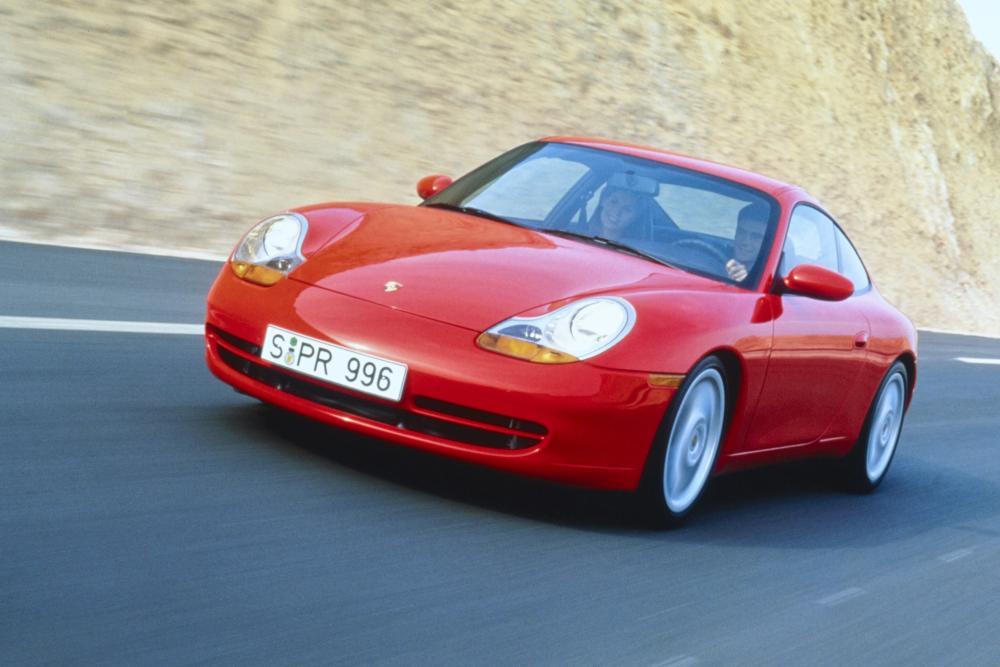 Porsche 911 5 поколение 996 (1998-2001) Carrera купе 2-дв.