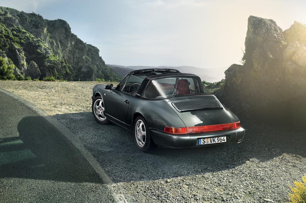 Porsche 911 3 поколение 964 (1989-1994) Targa тарга
