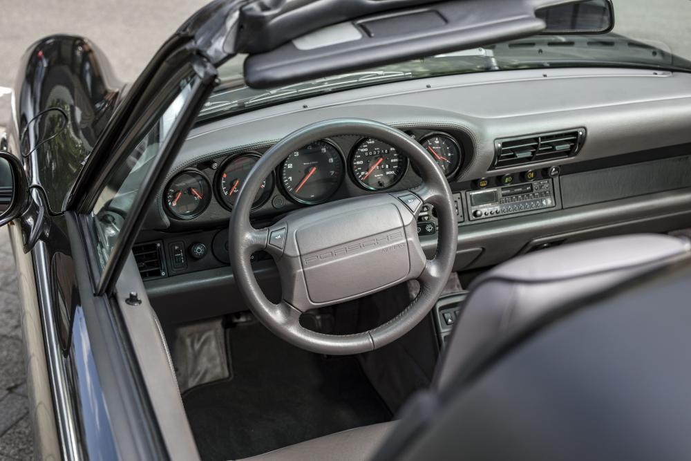 Porsche 911 3 поколение 964 (1989-1994) Targa тарга интерьер