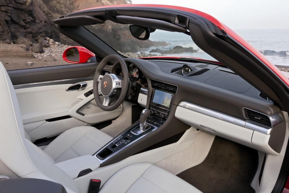 Porsche 911 7 поколение 991 (2011-2015) Carrera кабриолет 2-дв. интерьер