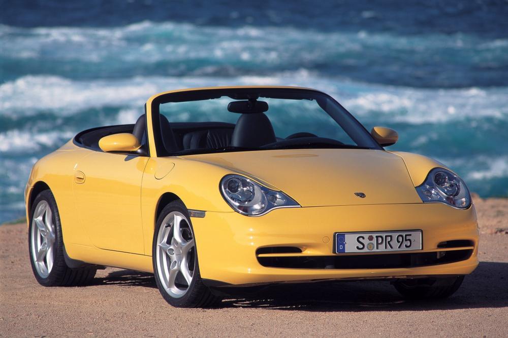 Porsche 911 5 поколение 996 [рестайлинг] (2001-2005) Кабриолет
