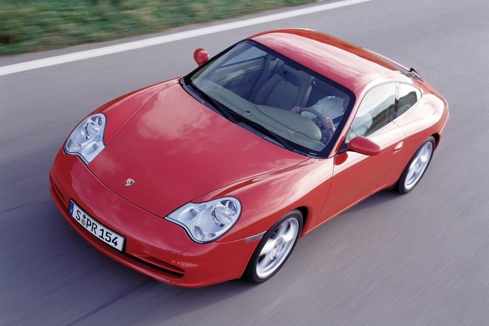 Porsche 911 5 поколение 996 [рестайлинг] (2001-2005) Carrera купе 2-дв.