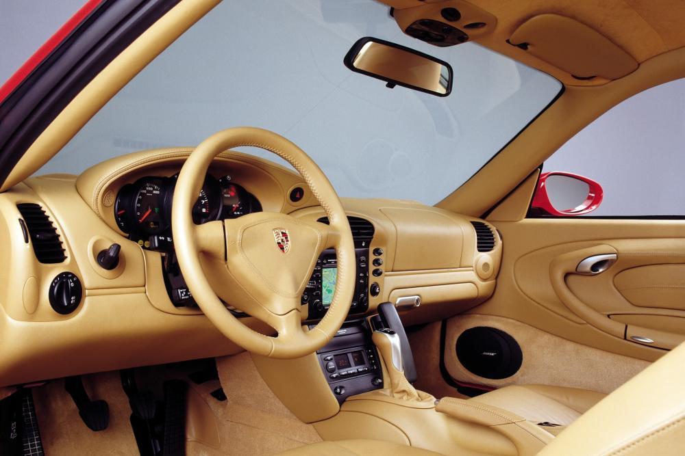 Porsche 911 5 поколение 996 [рестайлинг] (2001-2005) Carrera купе 2-дв. интерьер
