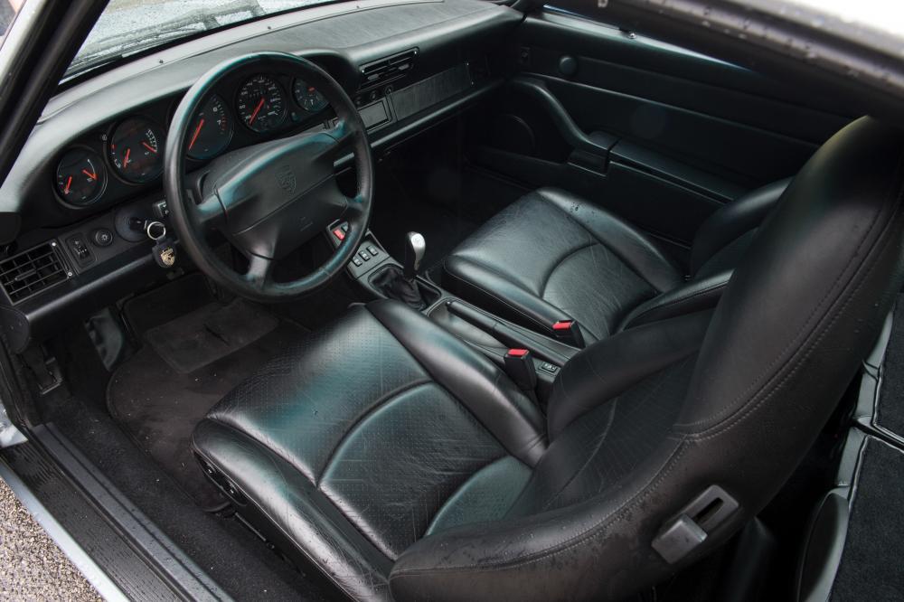 Porsche 911 4 поколение 993 (1995-1997) Targa тарга интерьер
