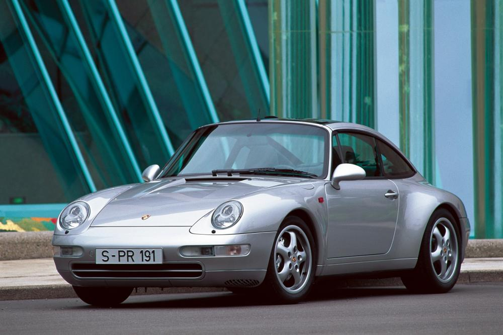 Porsche 911 4 поколение 993 (1995-1997) Targa тарга