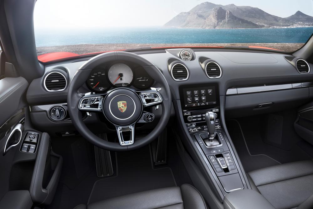 Porsche Boxster 982 Родстер интерьер