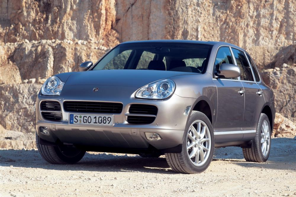 Porsche Cayenne 1 поколение 955 (2002-2007) Кроссовер 5-дв.