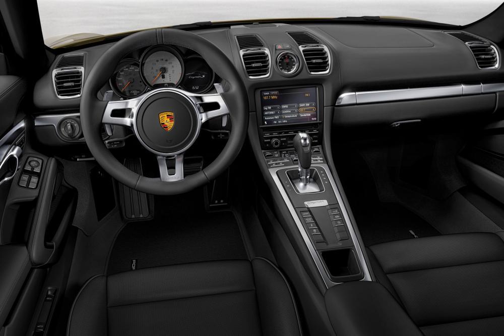 Porsche Cayman 2 поколение 981C [рестайлинг] (2012-2016) Купе 2-дв. интерьер
