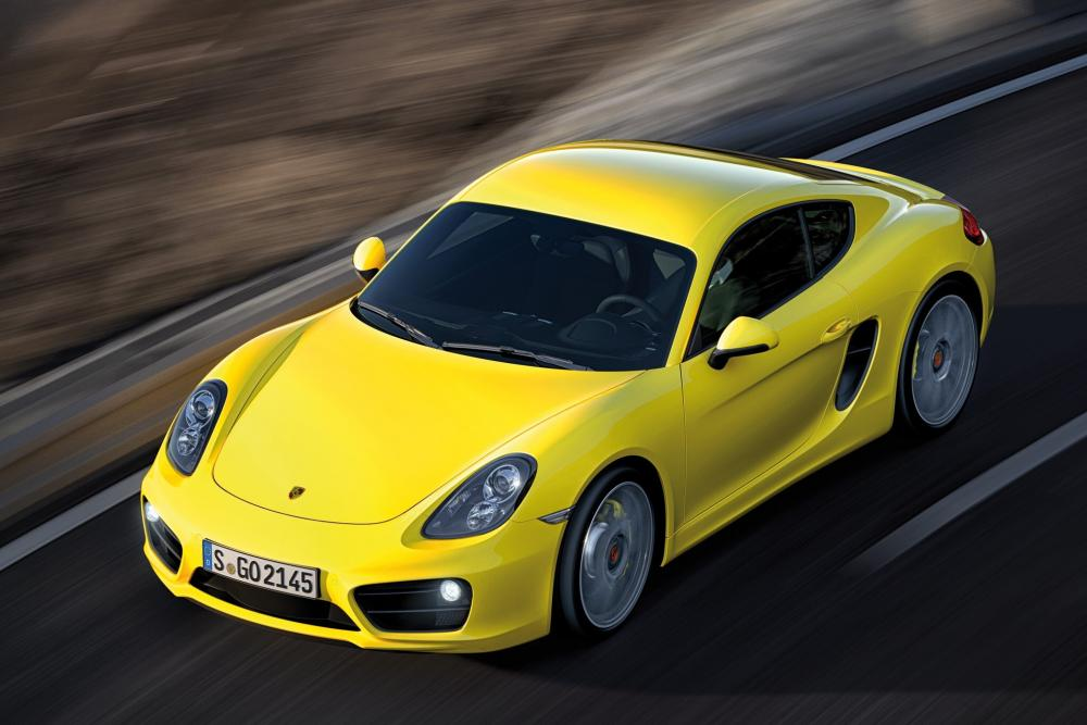 Porsche Cayman 2 поколение 981C [рестайлинг] (2012-2016) Купе 2-дв.