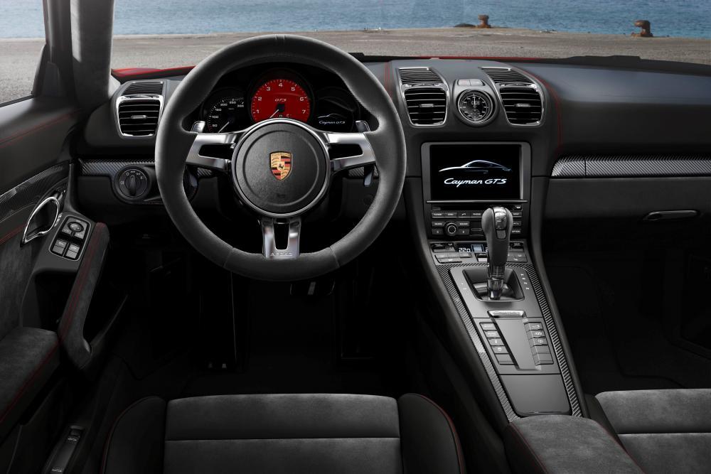 Porsche Cayman 2 поколение 981C [рестайлинг] (2012-2016) GTS купе 2-дв. интерьер