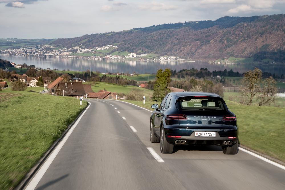 Porsche Macan 1 поколение (2014-2018) Кроссовер