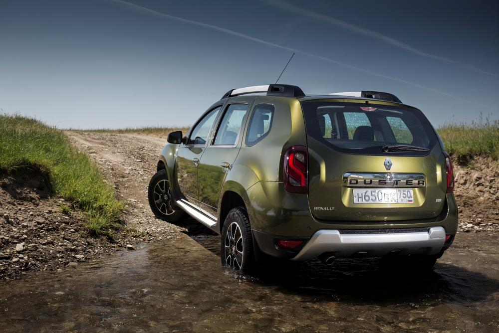 Renault Duster 1 поколение [рестайлинг] (2015) Кроссовер