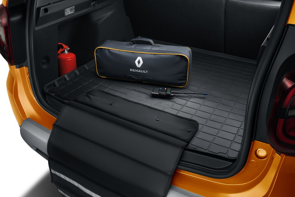 Renault Duster 2 поколение (2020) Кроссовер багажник