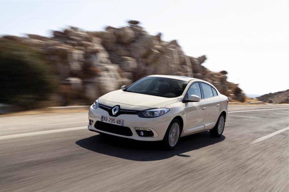 Renault Fluence 1 поколение рестайлинг (2012-2018) Седан