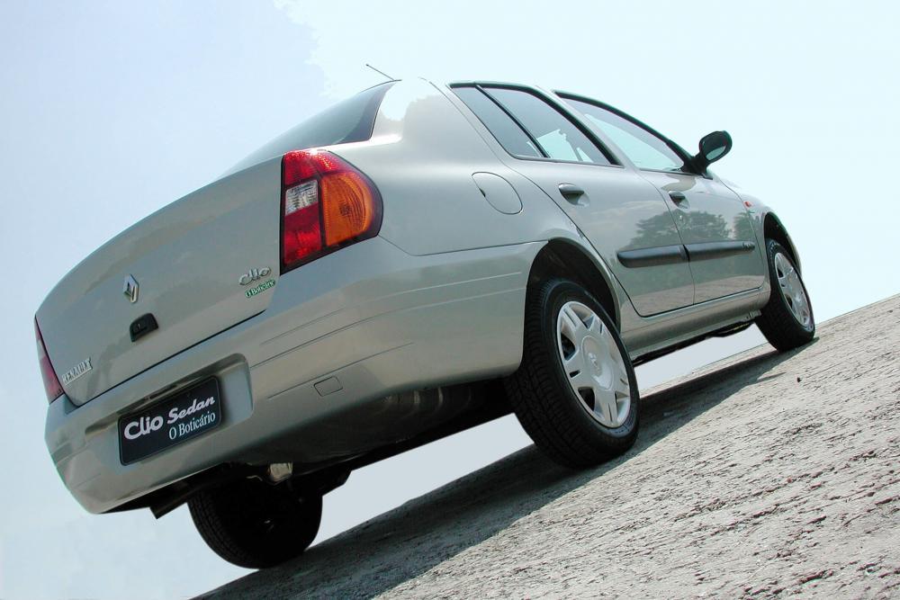 Renault Symbol 1 поколение (1999-2001) Седан