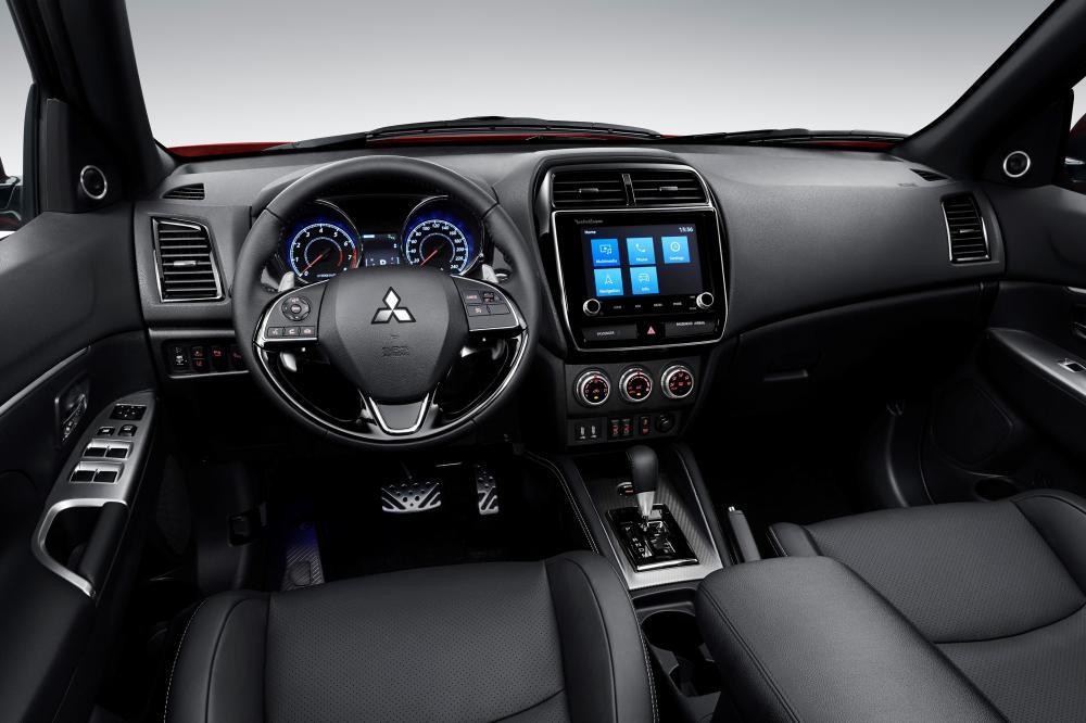 Mitsubishi ASX 1 поколение (4 рестайлинг) (2019) Кроссовер интерьер