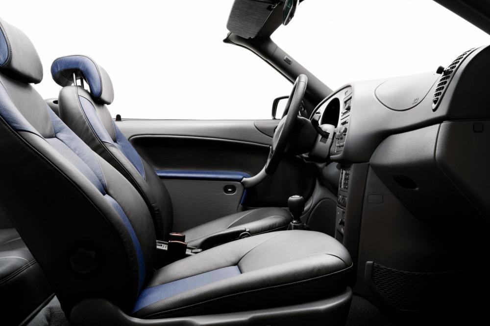 Saab 9-3 1 поколение кабриолет интерьер