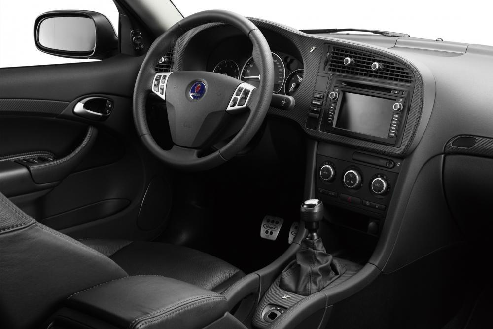 Saab 9-3 2 поколение рестайлинг Sport седан интерьер