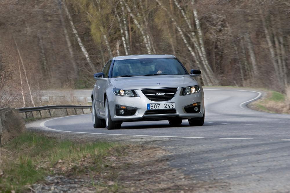 Saab 9-5 2 поколение cедан