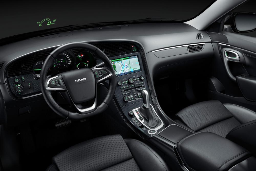Saab 9-5 2 поколение cедан интерьер