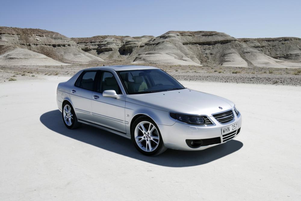 Saab 9-5 1 поколение рестайлинг Седан