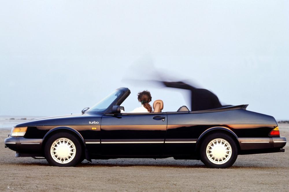 Saab 900 1 поколение кабриолет