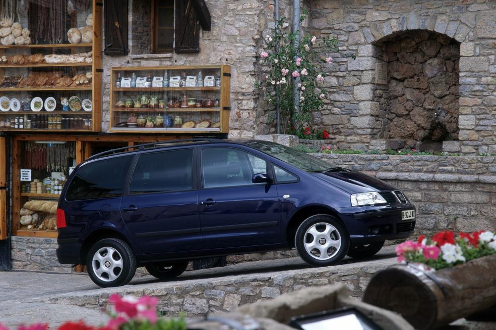SEAT Alhambra 1 поколение рестайлинг (2000-2010) Минивэн