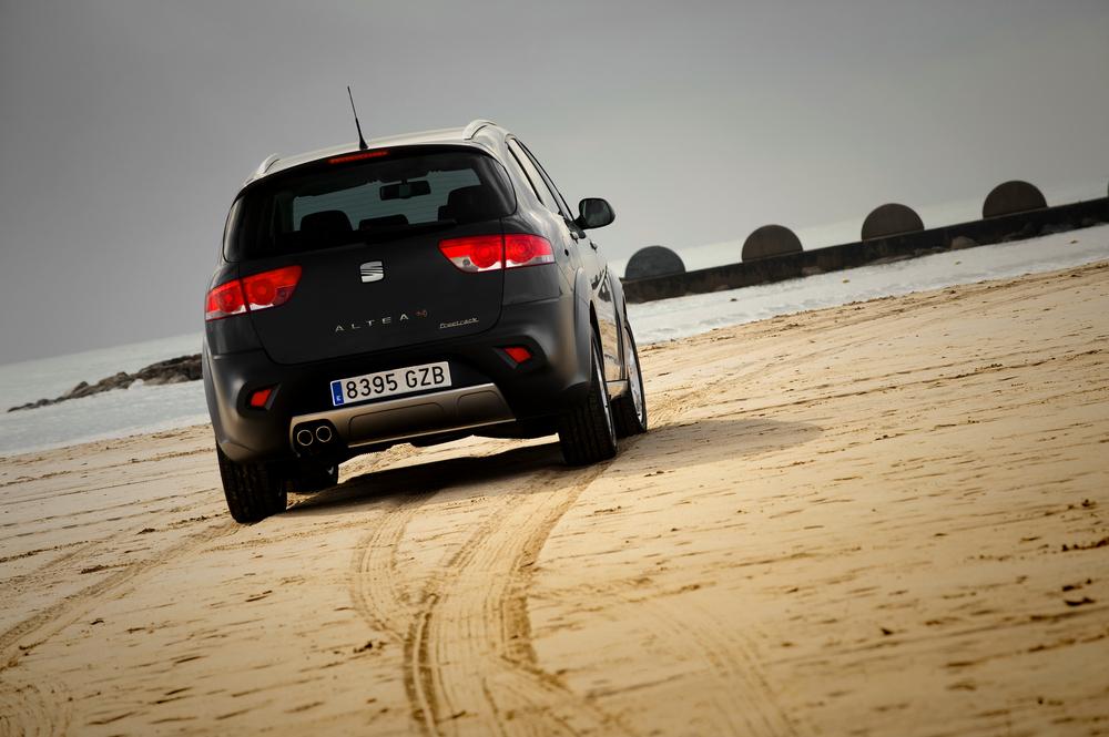 SEAT Altea 1 поколение [рестайлинг] (2009-2015) Freetrack минивэн 5-дв.