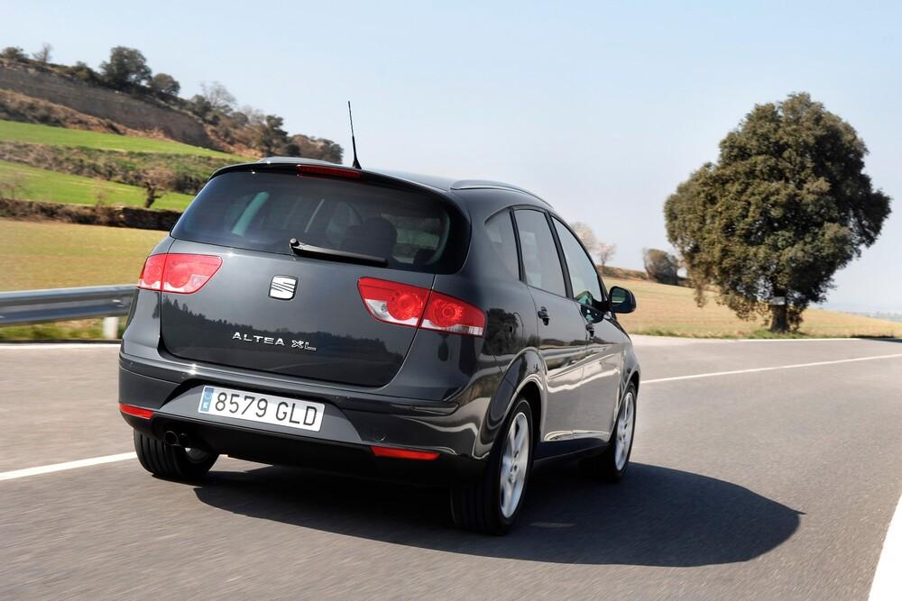 SEAT Altea 1 поколение [рестайлинг] (2009-2015) XL минивэн 5-дв.