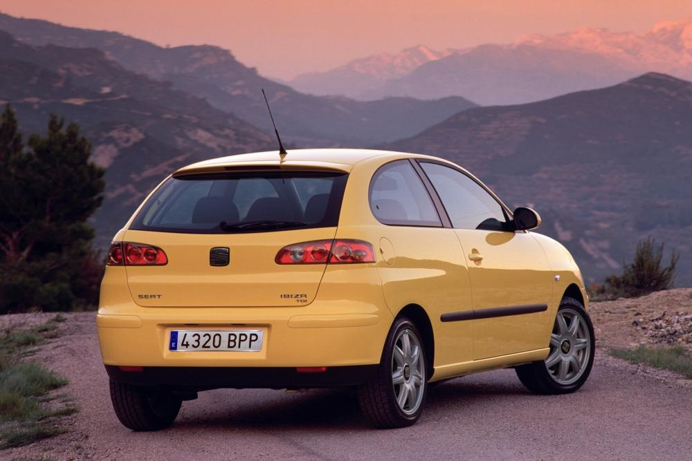 SEAT Ibiza 3 поколение Хетчбэк 3-дв.