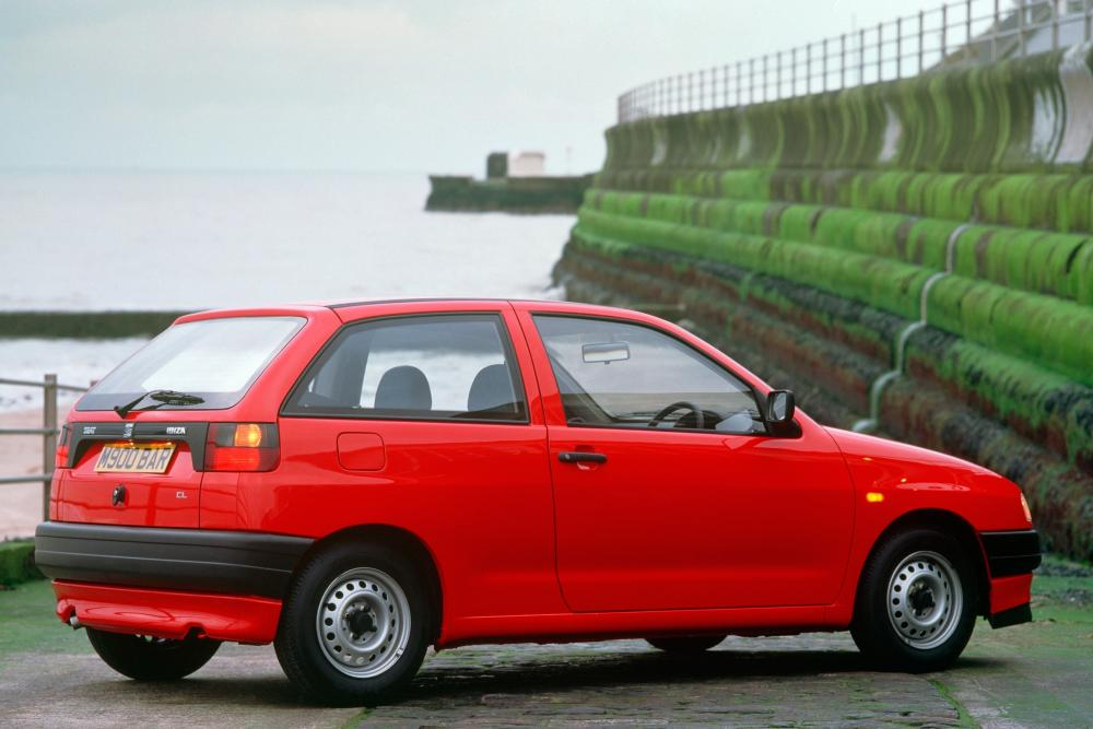 SEAT Ibiza 2 поколение (1993-1999) Хетчбэк 3-дв.