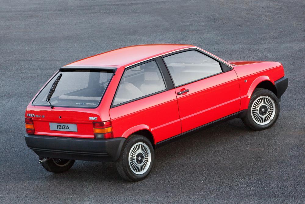 SEAT Ibiza 1 поколение (1984-1993) Хетчбэк