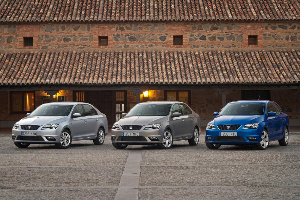 SEAT Toledo 4 поколение (2012-2018) Лифтбэк