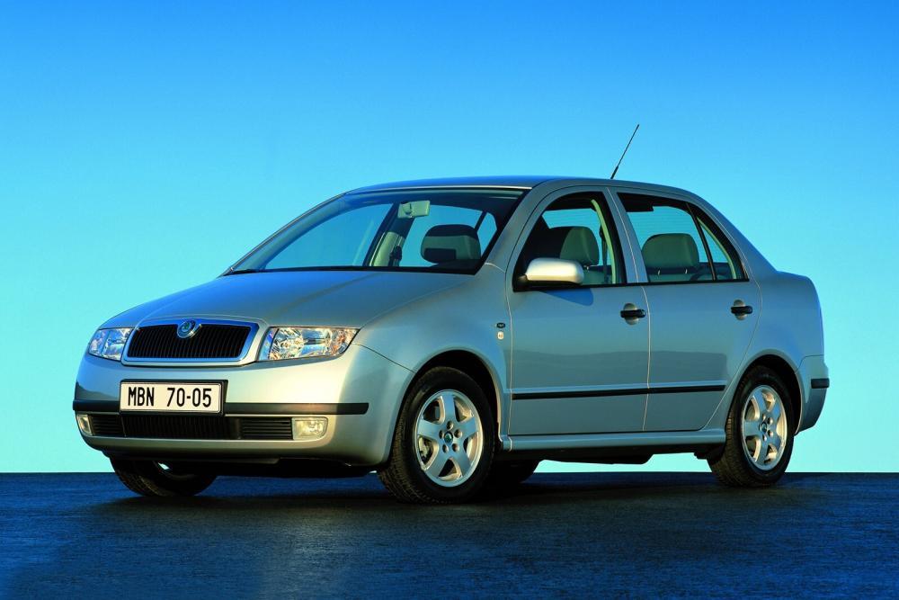 Skoda Fabia 1 поколение 6Y (2001-2004) Седан