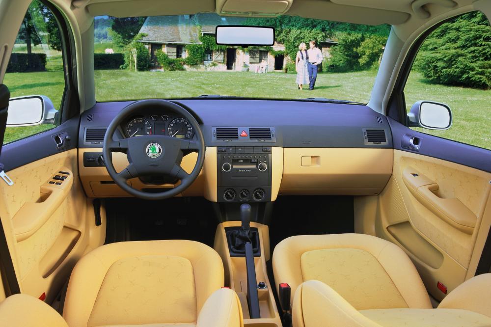 Skoda Fabia 1 поколение 6Y (2001-2004) Седан интерьер