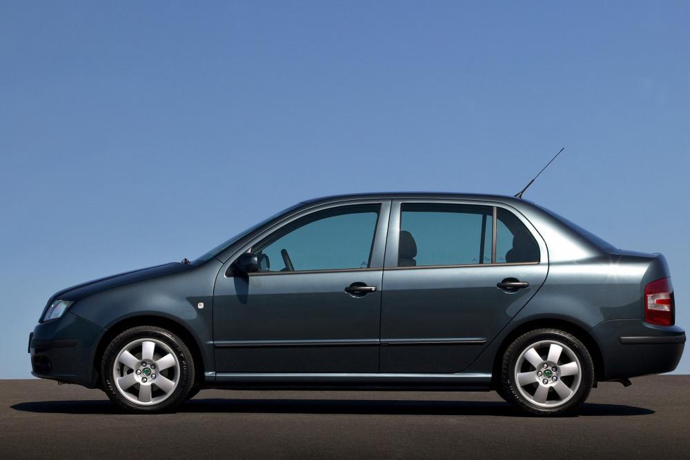 Skoda Fabia 1 поколение 6Y [рестайлинг] (2004-2007) седан