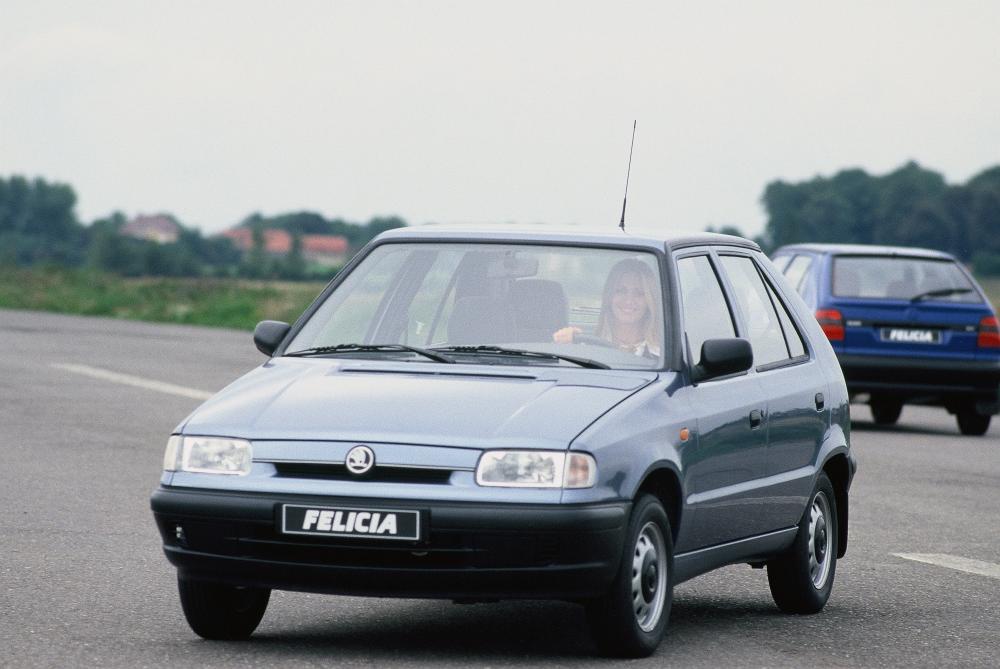 Skoda Felicia 1 поколение (1994-2000) Хетчбэк